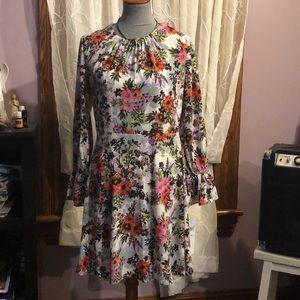 Maggy London Midi Shift Dress Size 10 Petite
